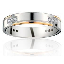 Chrysippe D 4,0 - Les Alliances Diamants