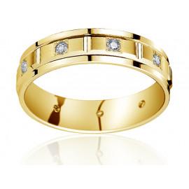 Anelli D 4,0 - Alliances avec Diamant