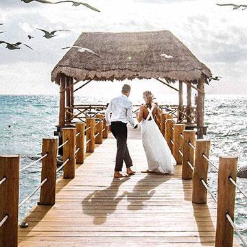 Un mariage réussi avec le comptoir 62 La Fayete