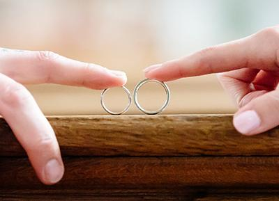 Personalisez vos alliances de mariage