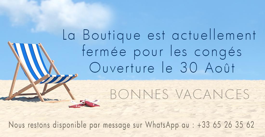 La Boutique Comptoir 62 La Fayette est actuellemnt fermé jusqu'au 30 Août 2020, nous restons disponible par message sur WhatsApp au : +33 6 52 63 35 62