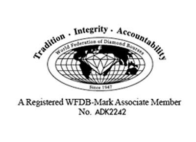 Sigle de labijouterie garantissant son appartenance au WFDB
