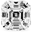 Diamant Asscher cut