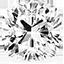 Diamant de forme coussin
