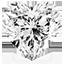 Diamant de forme Cœur