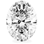 Diamant de forme oval