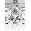 Diamant de forme poire
