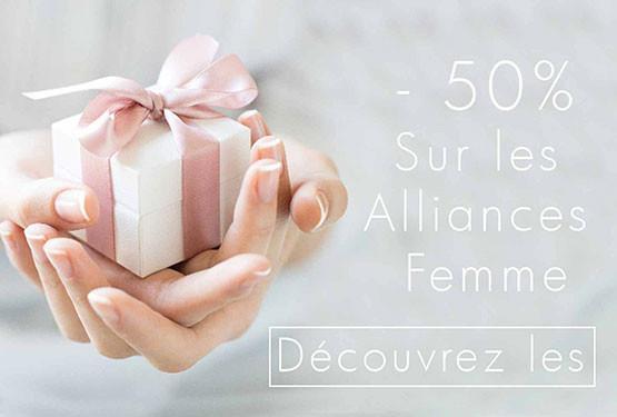 Offre sur les alliances pour les Femmes