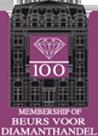 Logo du laboratoire de la bourse d'Anvers Beurs voor Diamanthandel